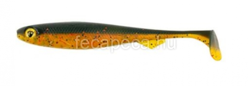 FOX RAGE SLICK SHAD 13CM DARK OIL (UV) - 590,- Ft