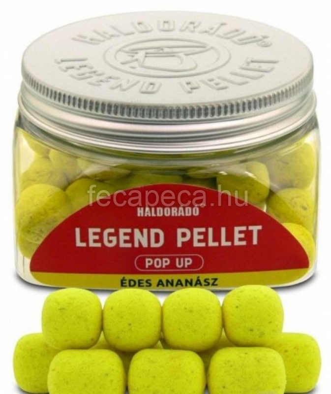 HALDORÁDÓ LEGEND PELLET POP UP ÉDES ANANÁSZ