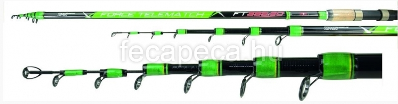 CARP ZOOM FORCE TELEMATCH BOT 3,95M 10-80G  - 9 990,- Ft