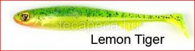 FOX RAGE SLICK SHAD 11CM LEMON TIGER  - 450,- Ft
