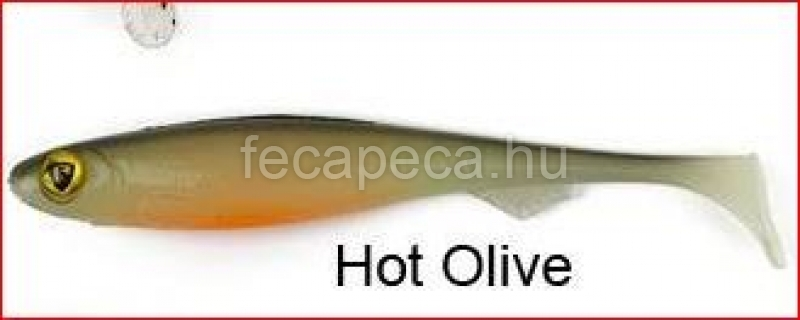 FOX RAGE SLICK SHAD 11CM HOT OLIVE - 450,- Ft