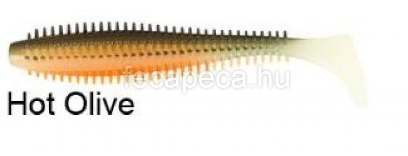 FOX RAGE SPIKEY SHAD 9CM HOT OLIVE - 370,- Ft