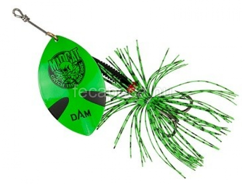 MADCAT BIG BLADE SPINNER GREEN - 2 190,- Ft