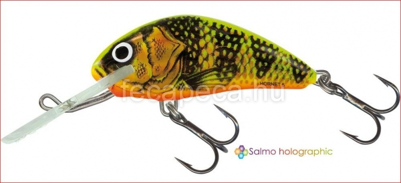 SALMO HORNET FLOATING 5CM GFP  - 2 790,- Ft