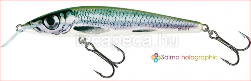 SALMO RATTLIN STING 9CM  HBL - 3 390,- Ft
