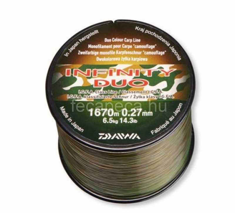 INFINITY DUO CAMO 0,27MM - 6 590,- Ft
