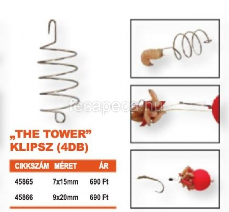 PROLOGIC THE TOWER KLIPSZ  7x15MM  - 690,- Ft