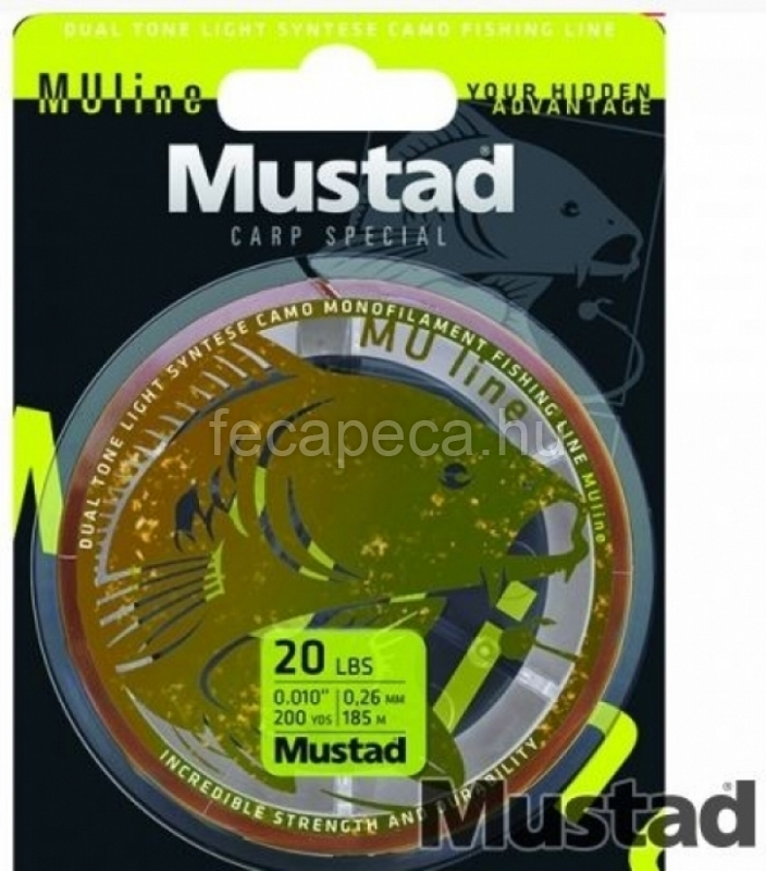 MUSTAD MU LINE 300M 0,31mm - 1 990,- Ft