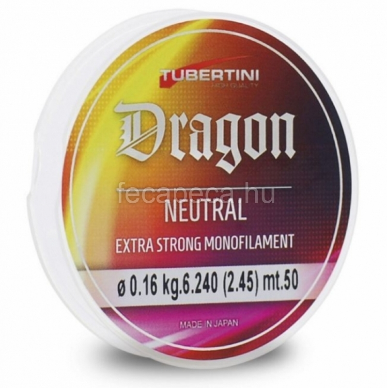 TUBERTINI DRAGON 50M 0,18mm - 1 522,- Ft