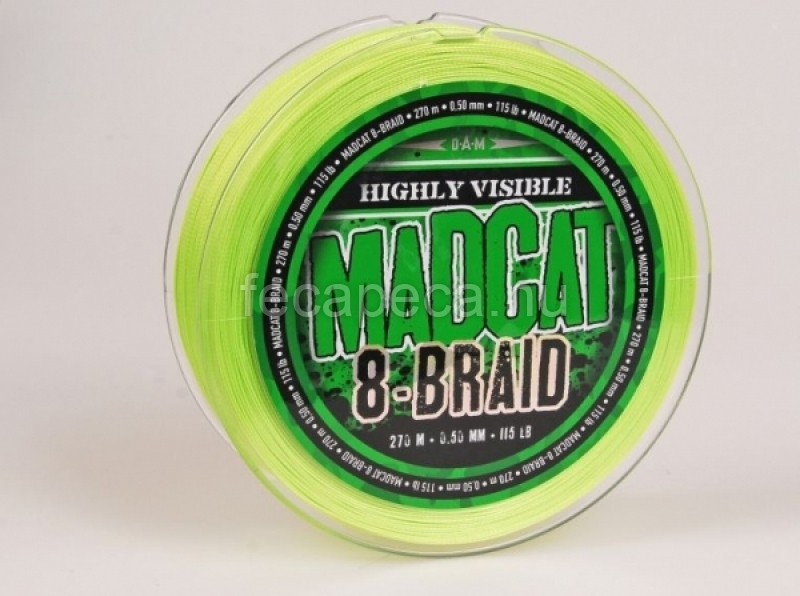 MADCAT 8 BRAID 270M 0,50mm - 12 990,- Ft