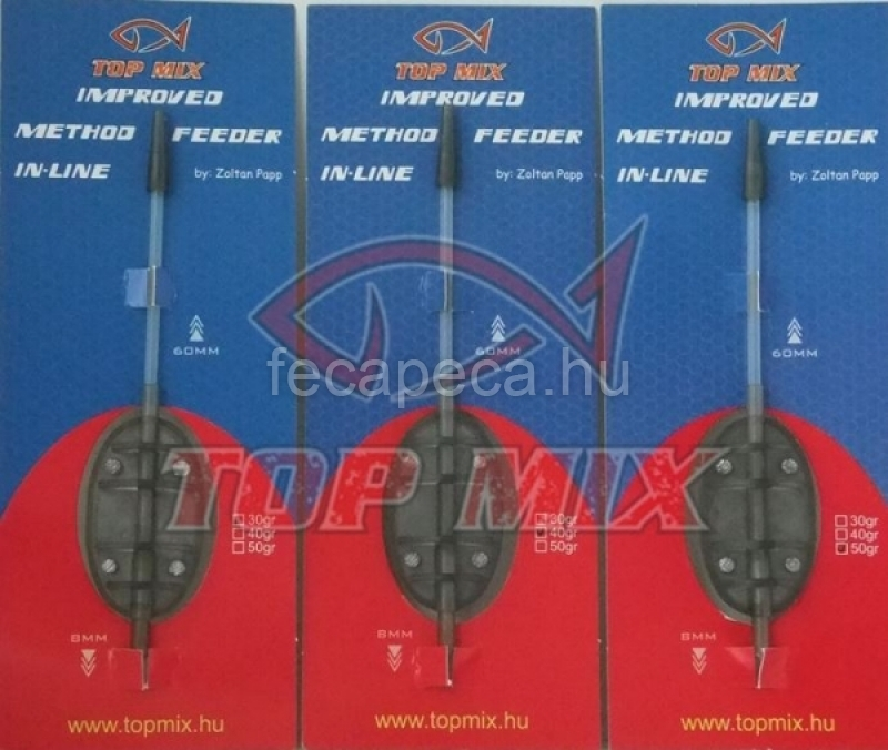 TOP MIX IMPROVED IN-LINE METHOD FEEDER KOSÁR 50G  - 590,- Ft