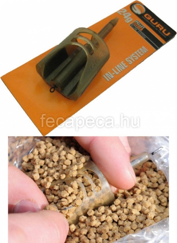 GURU PELLET FEEDER IN-LINE SYSTEM FIX 24G - 1 090,- Ft