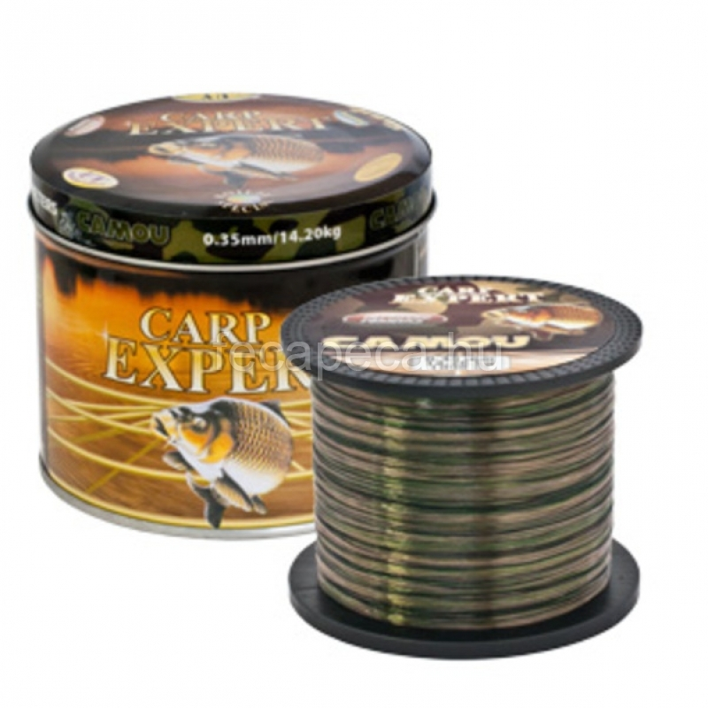 CARP EXPERT CAMOU 1000M 0,25mm - 3 990,- Ft
