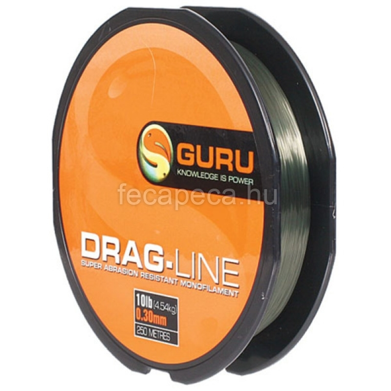 GURU DRAG-LINE 250m 0,30mm - 2 790,- Ft