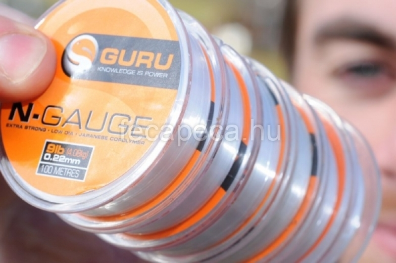 GURU N-GAUGE 100m 0,13mm - 2 190,- Ft