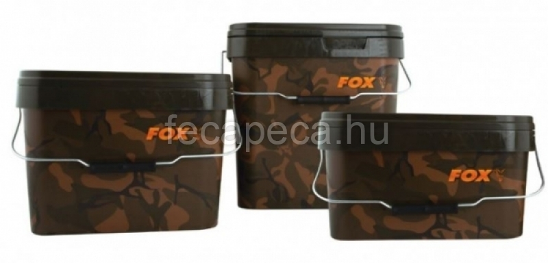FOX CAMO  VÖDÖR 5L - 2 290,- Ft