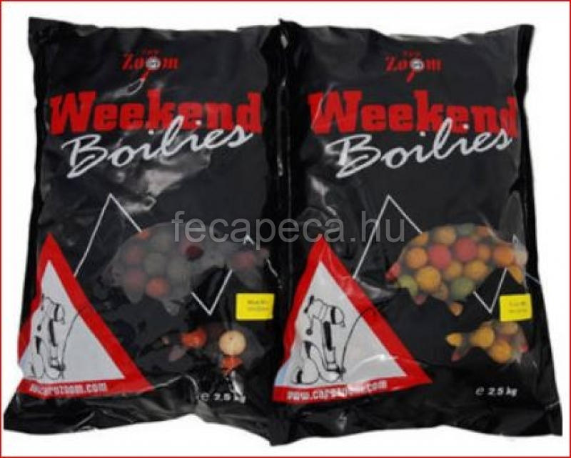 CARP ZOOM WEEKEND BOILIES FRUIT MIX 10KG - 9 990,- Ft