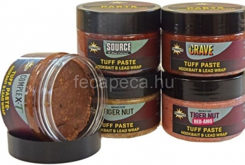 DYNAMITE BAITS TUFF PASTE RED-AMO 150G - 2 490,- Ft