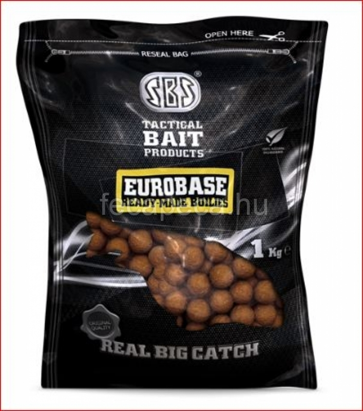 SBS EUROBASE READY-MADE BOILIES STRAWBERRY JAM 20MM 1KG   - 1 990,- Ft