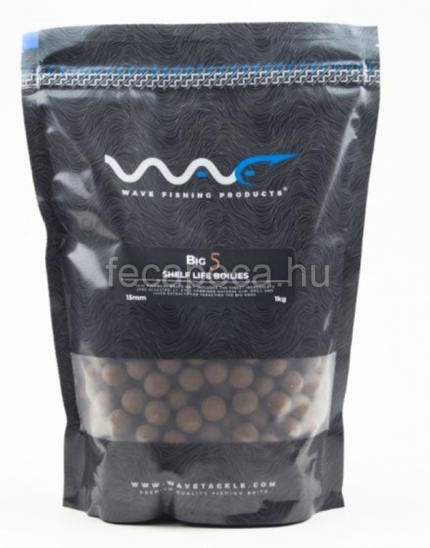 WAVE PRODUCTS – BIG5 SHELF LIFE BOILIES 15MM - 4 690,- Ft