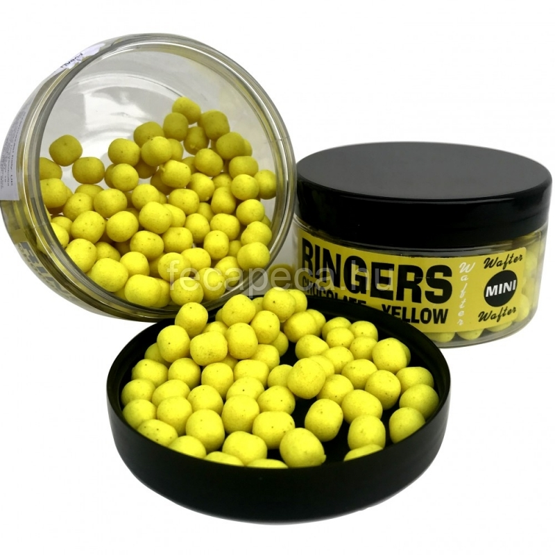 RINGERS CHOCOLATE YELLOW WAFTERS MINI 4,5MM 50G  - 2 290,- Ft