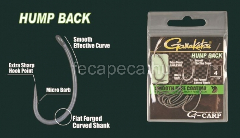 GAMAKATSU G-CARP HUMP BACK  2 - 1 890,- Ft