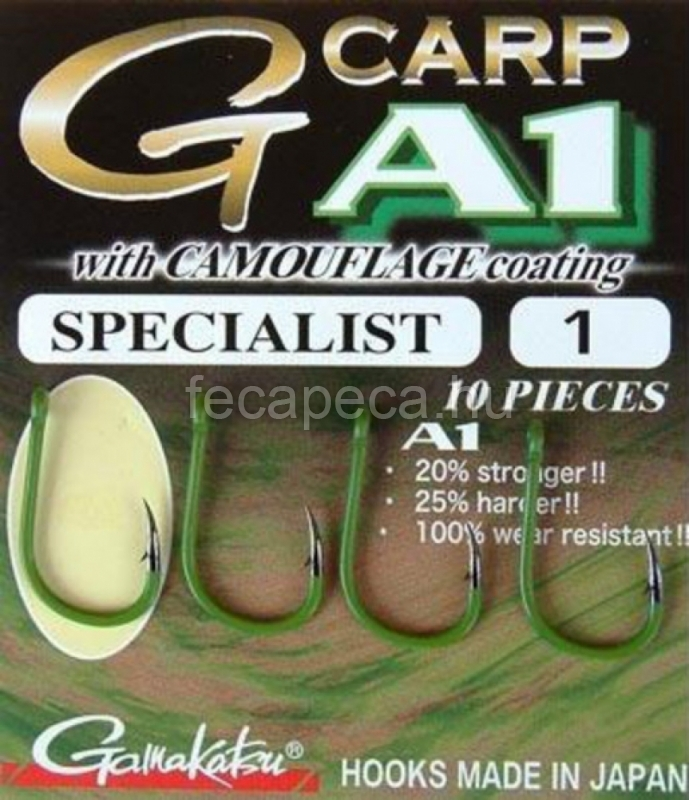 GAMAKATSU G-CARP A1 SPECIALIST CAMOFLAGE   6 - 1 990,- Ft