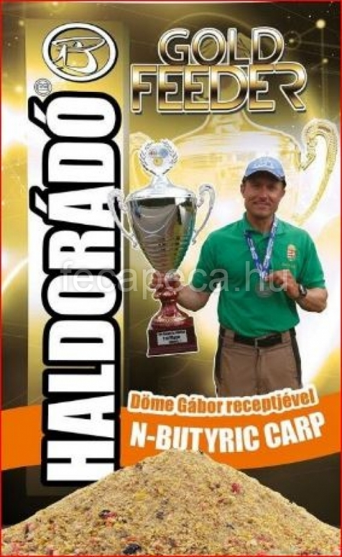 HALDORÁDÓ GOLD FEEDER N-BUTYRIC CARP 1KG - 1 490,- Ft