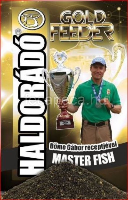 HALDORÁDÓ GOLD FEEDER - MASTER FISH 1KG - 1 490,- Ft