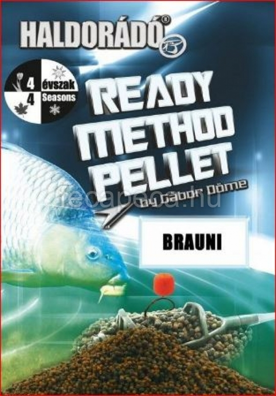 HALDORÁDÓ READY METHOD PELLET BRAUNI 400G - 990,- Ft