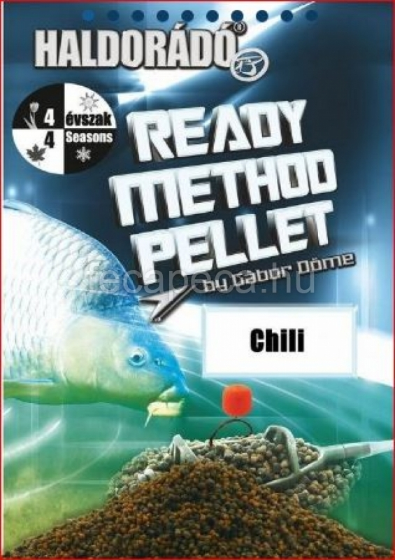HALDORÁDÓ READY METHOD PELLET CHILI 400G - 990,- Ft