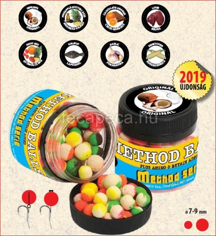 TIMARMIX METHOD BALLS ORIGINAL 7-9MM - 1 190,- Ft