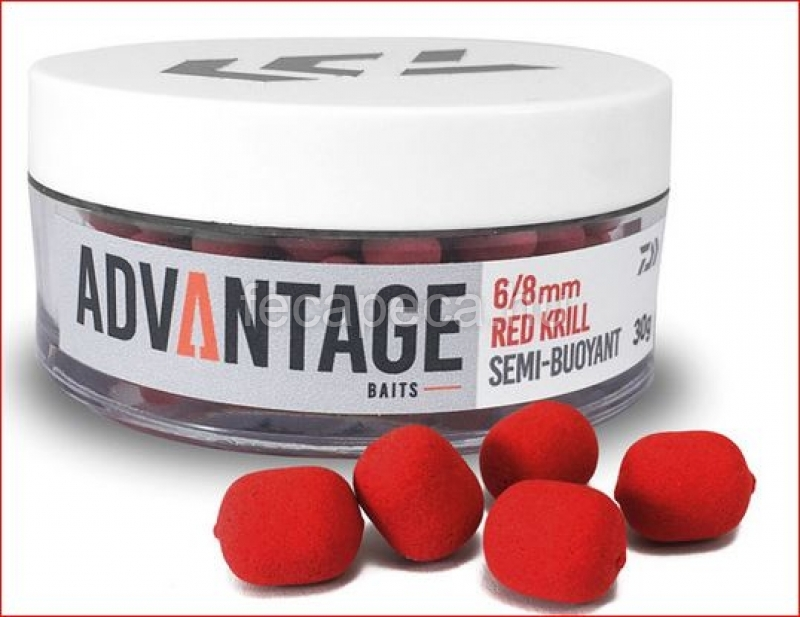 DAIWA ADVANTAGE HOROGCSALI RED KRILL  8/10MM - 2 390,- Ft