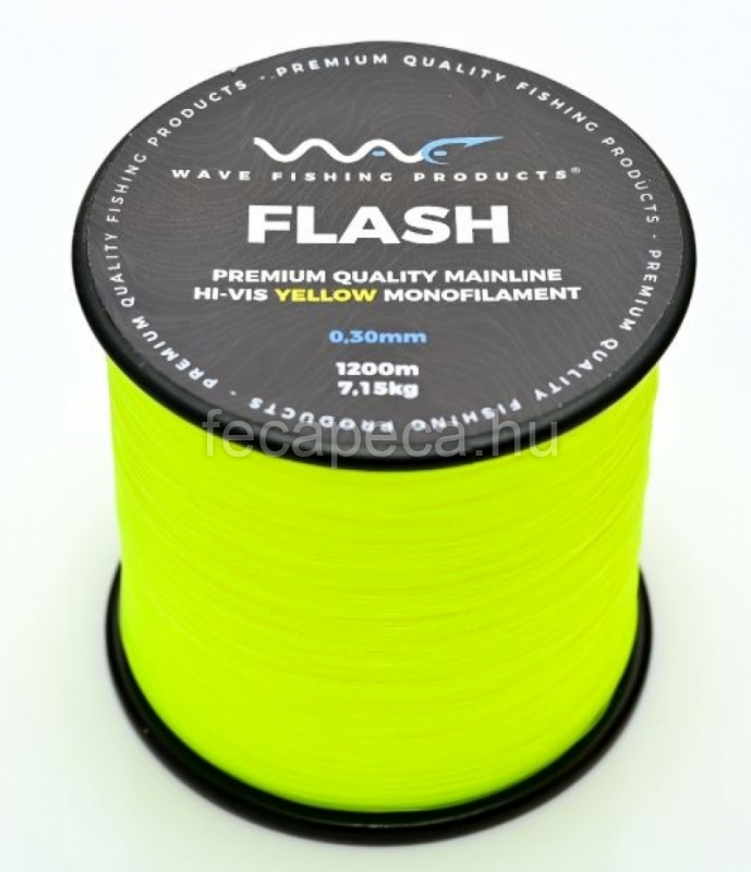 WAVE PRODUCTS WAVE FLASH YELLOW ZSINÓR 1500M 0,25MM  - 4 990,- Ft