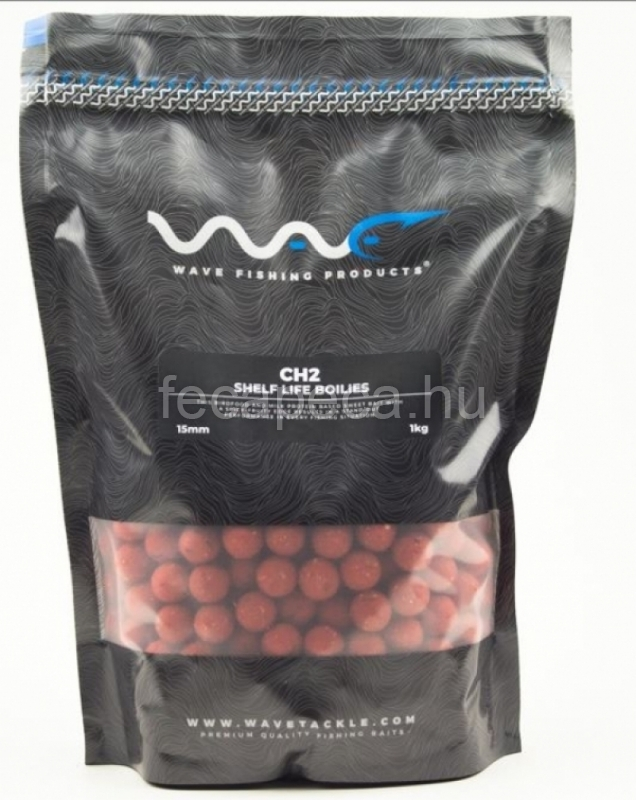 WAVE PRODUCTS – CH2 SHELF LIFE BOILIES 15MM 300G - 1 590,- Ft
