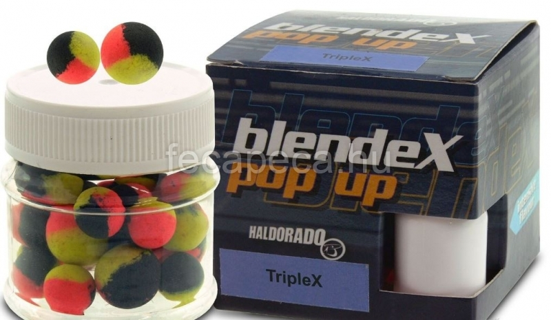 HALDORÁDÓ BLENDEX TRIPLEX POP UP BIG CARPS NAGY PONTY10-12MM 20G - 1 990,- Ft