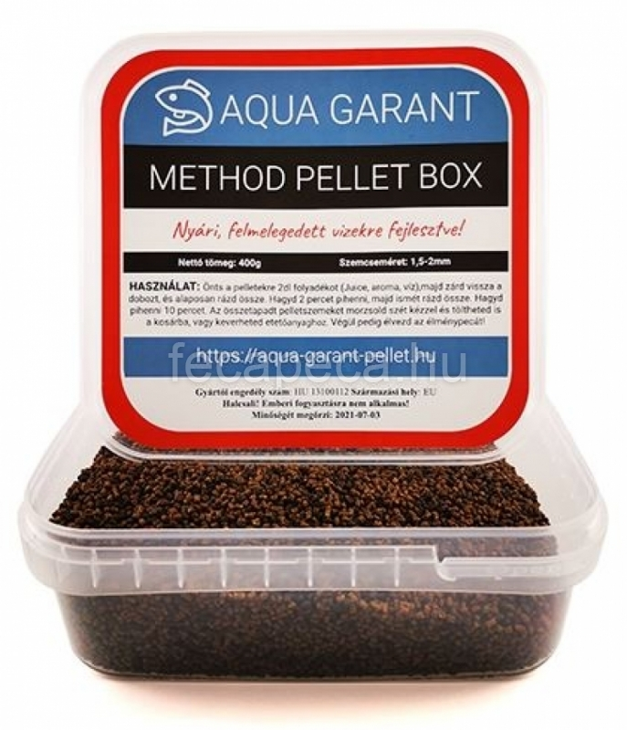 PROMIX METHOD PELLET BOX NYÁRI 400G - 990,- Ft