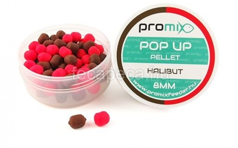 PROMIX POP UP PELLET HALIBUT  20G 8MM - 1 290,- Ft