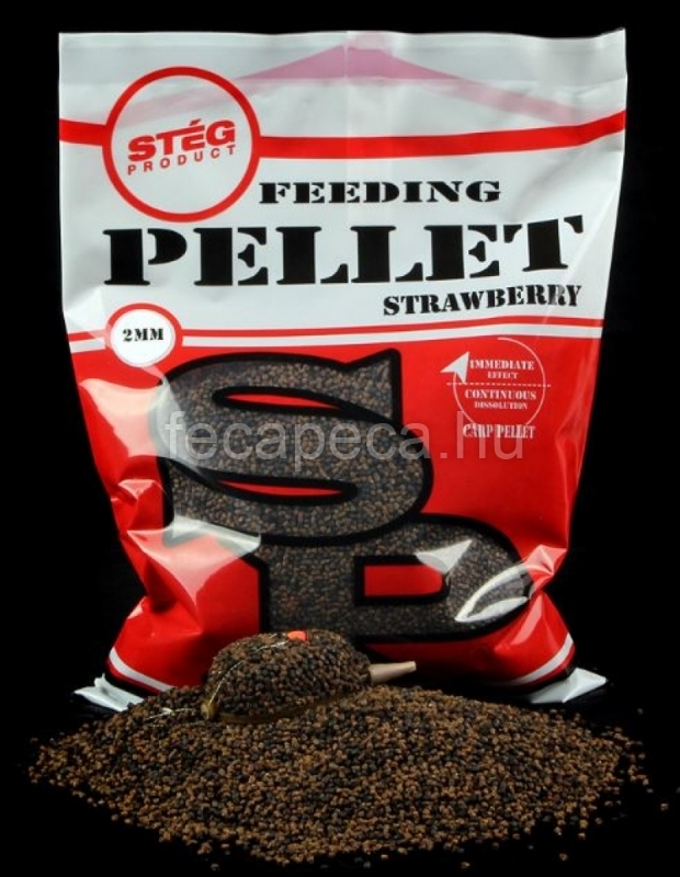 STÉG PRODUCT FEEDING PELLET STRAWBERRY 2MM 800G - 1 490,- Ft