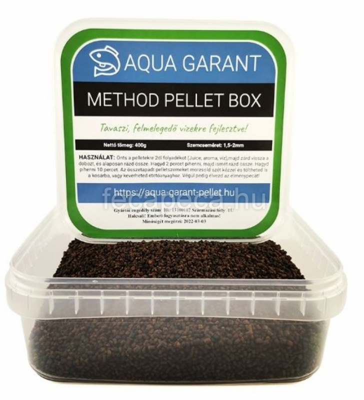 PROMIX METHOD PELLET BOX TAVASZI 400G - 990,- Ft