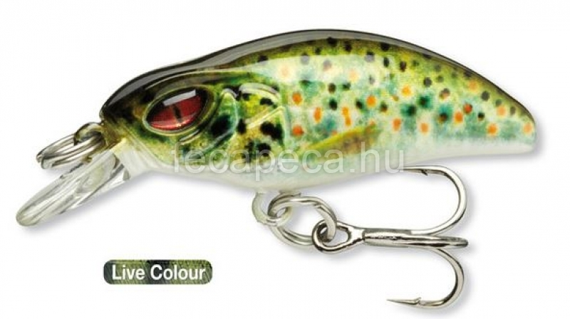 DAIWA PROREX MICRO MINNOW F-SR LIVE BROWN TROUT - 3 590,- Ft