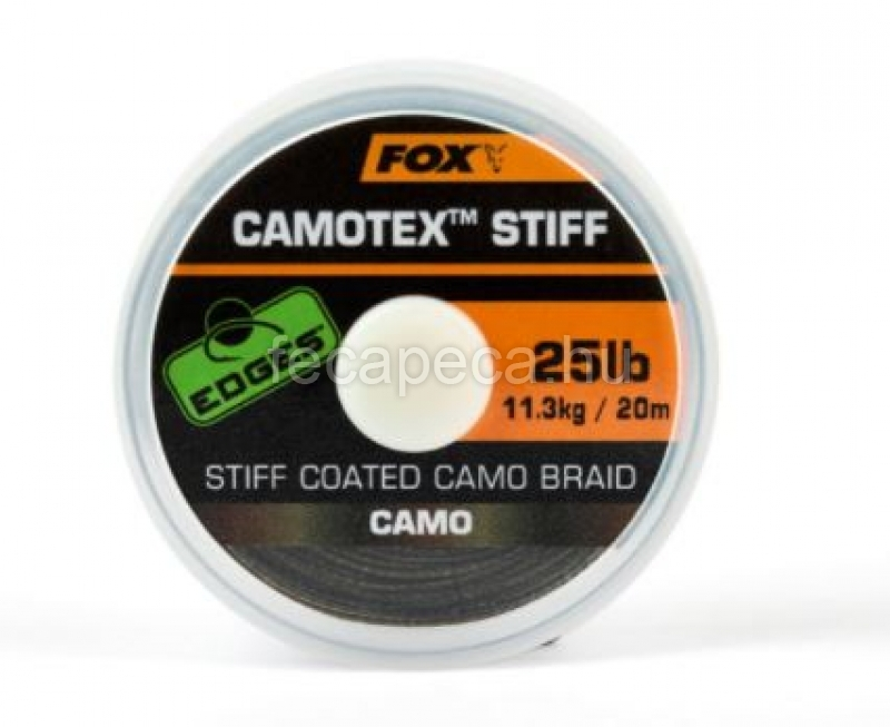 FOX EDGES CAMOTEX STIFF 20LB  - 6 890,- Ft