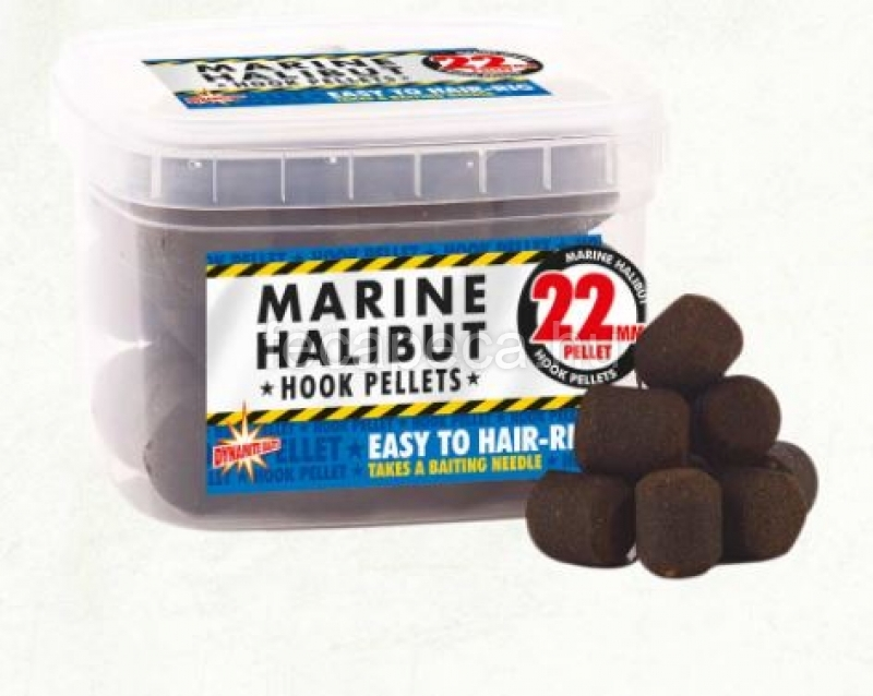 DYNAMITE BAITS HOOK PELLET MARINE HALIBUT 22MM - 5 290,- Ft