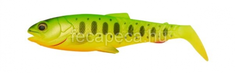 SAVAGE GEAR CANNIBAL PADDLETAIL SHAD 10,5CM FIRETIGER - 630,- Ft